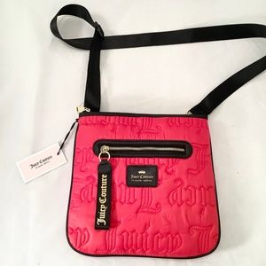 Juicy Couture Large Crossbody Bag Gothic Quilting